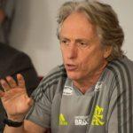 Jorge Jesus comanda o 1º treino no Flamengo e pede: 'É ganhar, ganhar e ganhar'