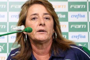 'Fui totalmente surpreendida, diz treinadora demitida do Palmeiras