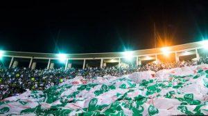 Show de Sandy & Junior faz Palmeiras jogar Libertadores no Pacaembu