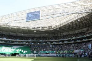 """Palmeiras é locatário do Allianz Parque, diz presidente: """"Pertence ao parceiro"""""""