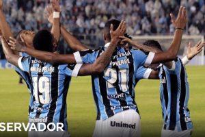 Grêmio completa quartos de final da Taça Libertadores