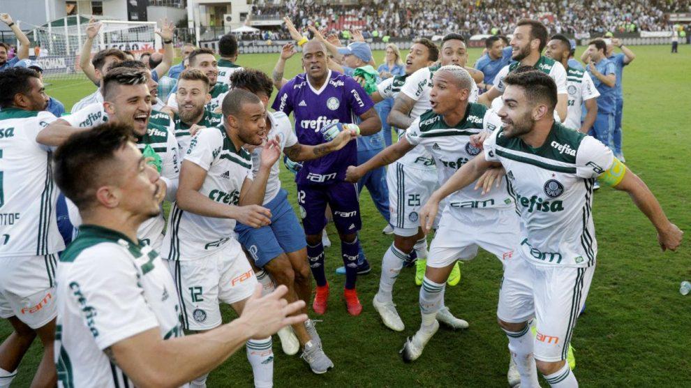 VÍDEO: goleada dá «quartos» da Libertadores ao Palmeiras de Scolari