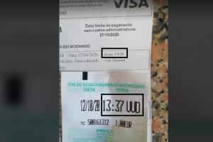"""Sociparque """"não perdoa multa"""" a condutora com bilhete válido em Vila Verde"""
