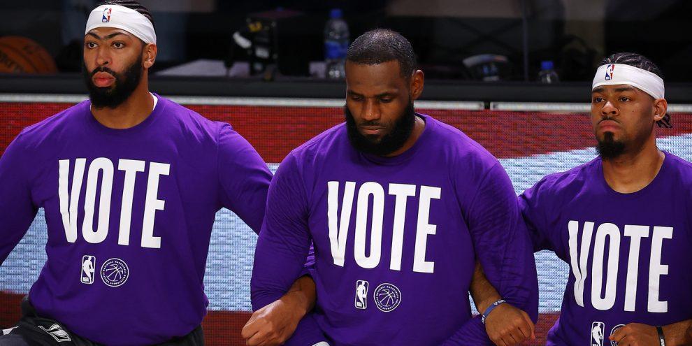 Apelos ao voto, trocas de argumentos e donativos chorudos: Nunca o desporto esteve tão envolvido nas eleições dos EUA