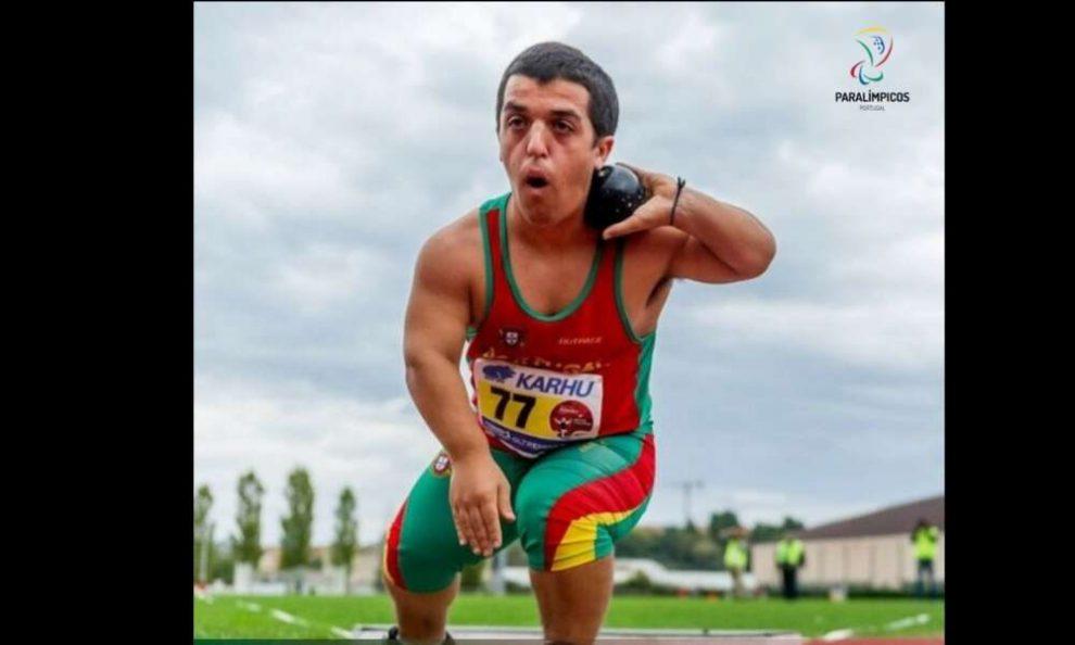 Atleta paralímpico Miguel Monteiro bate recorde do mundo no lançamento do peso