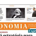 A 1ª página do Expresso Economia: Chegou a era das máquinas que despedem