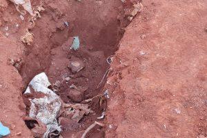 Corpo de homem é encontrado enterrado no Parque Ribeirão