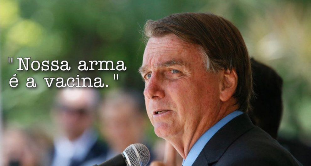 Bolsonaro passou a defender vacinação dias após compra da Covaxin