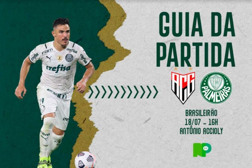 Atlético-GO x Palmeiras: onde assistir ao duelo pelo Brasileirão, arbitragem e escalações