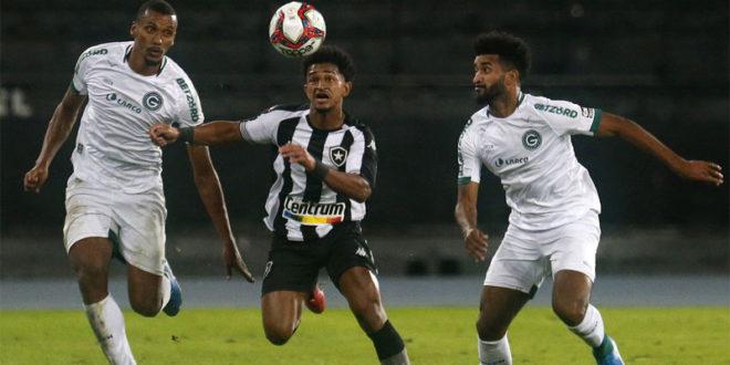 Série B: jogando no Nilton Santos, Botafogo perde para o Goiás